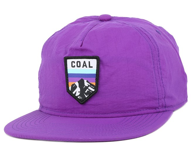 073667be919 The Summit Purple Snapback - Coal caps - Hatstoreworld.com