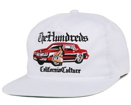 Hyna White Snapback - The Hundreds