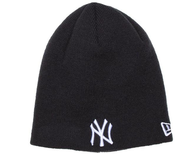 Kids NY Yankees Skull Navy Beanie - New Era beanies  f27aa7413db1