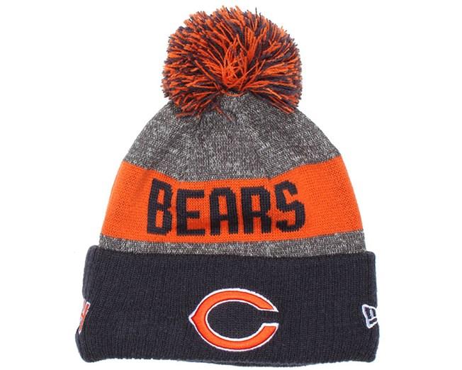 fd5148df0b5 Kids Chicago Bears Sideline Bobble Beanie - New Era beanies ...