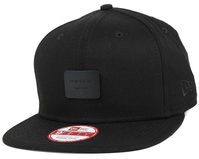 4cf7f0d23 Metal Badge Black Black 9Fifty Snapback - New Era caps