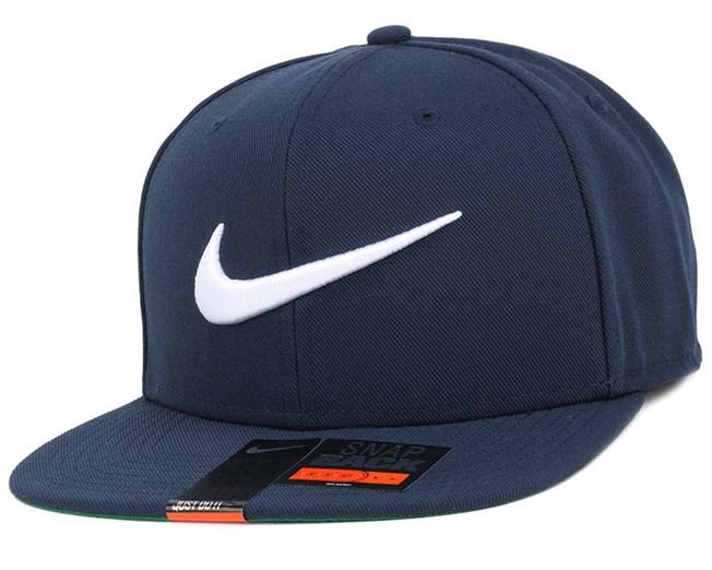 18dd40e7051 Swoosh Pro Navy Snapback - Nike caps