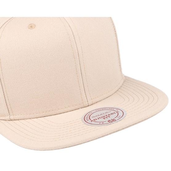 e5f494a84421f Blank Sand Snapback - Mitchell   Ness caps - Hatstoreworld.com