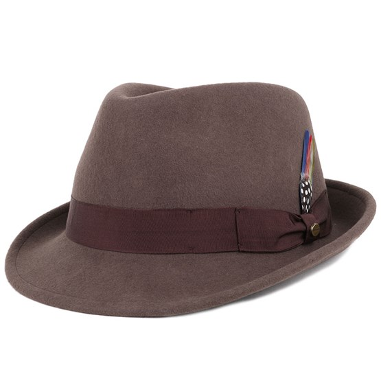 Trilby Woolfelt Brown - Stetson hats  f3f6ec612aa