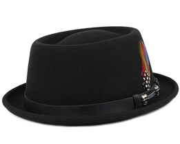 Pork Pie Woolfelt Black - Stetson