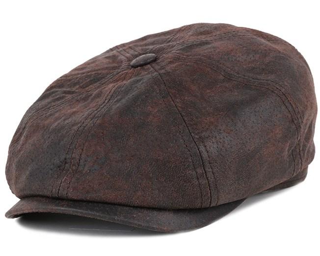 3eec9f7098c Hatteras Pigskin Flat Cap - Stetson caps