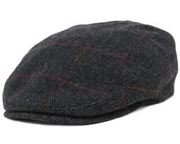 Kent Wool EF Herringbone Flat Cap - Stetson