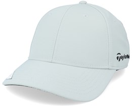 18 Perf front Hit Struct Womens Grey Adjustable - Taylor Made