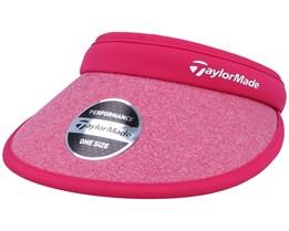 Women's Fashion Pink Visor - Taylor Made