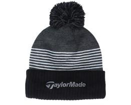 20 Bobble Black/Grey/White Pom - Taylor Made