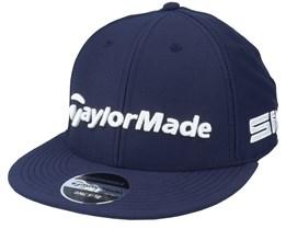 21 Tour Flat Bill Navy/White Snapback - Taylor Made