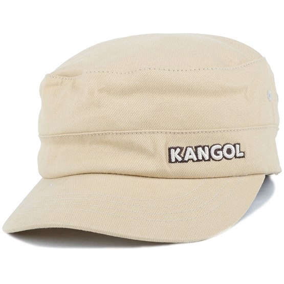 ebff28740f Cotton Twill Army Cap Beige Flexfit - Kangol caps - Hatstoreaustralia.com