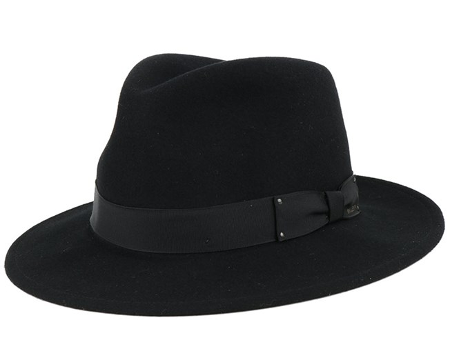 Curtis Black Trilby - Bailey