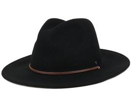 Field Hat Black Fedora - Brixton