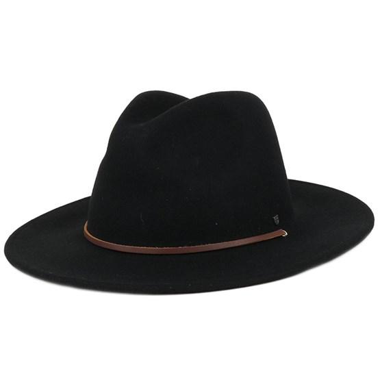 Field Hat Black Fedora - Brixton hats - Hatstoreworld.com ba886791212