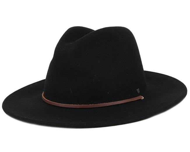 Field Hat Black Fedora - Brixton hats - Hatstoreworld.com 6a4c5b347f9