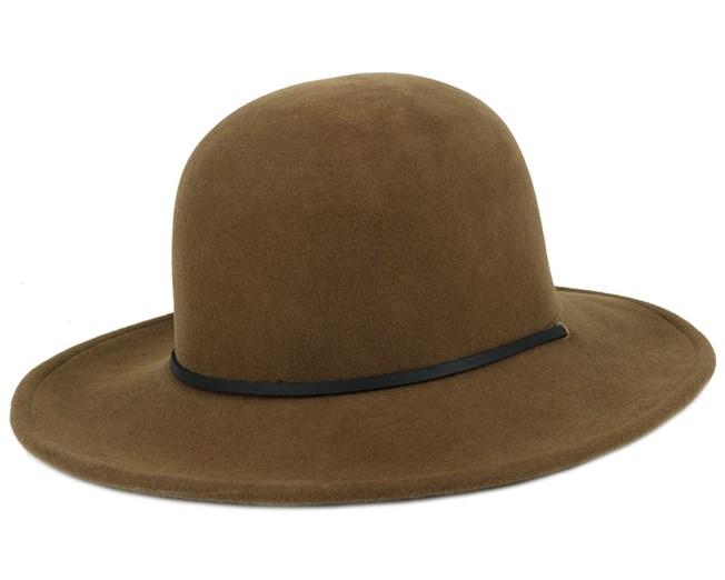 d0106761b76 Tiller Olive Black Fedora - Brixton hats - Hatstoreworld.com