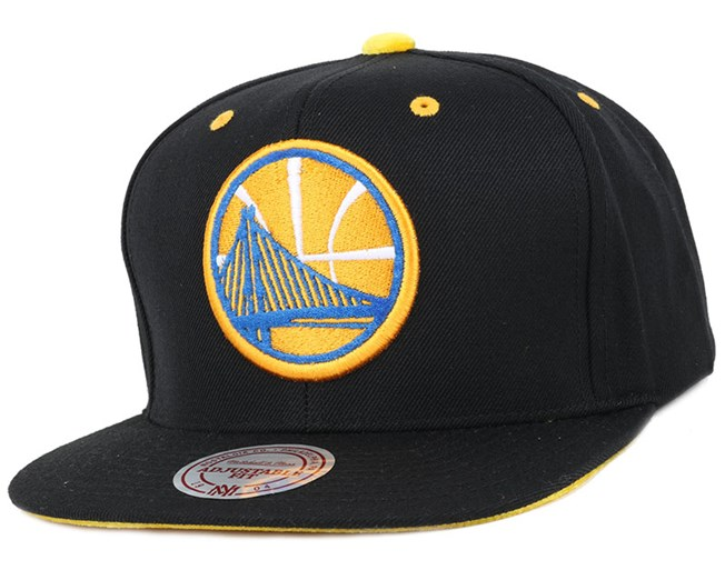 pretty nice b20a0 662d9 Golden State Warriors Solid Velour Logo Snapback - Mitchell   Ness