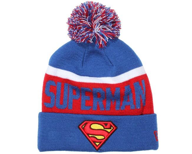 1896f11ad26f9 Superman Team Jake Beanie - New Era beanies