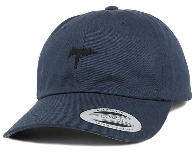 Uzi Navy Dad Cap Adjustable - GUNS n SKULLS - Все бейсболки бейсболку - Hatstore