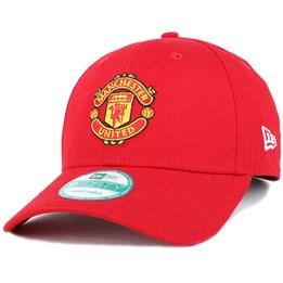 bcb87144d93 New Era Manchester United Basic Scarlet 940 Adjustable - New Era  22.49   24.99