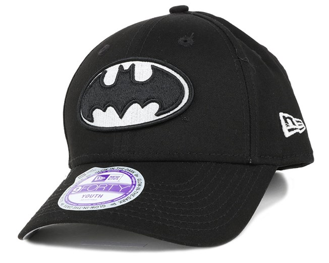 Kids Batman Hero GITD 940 Adjustable - New Era - Start Boné - Hatstore 0714a891d85