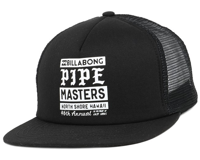 Pipe Poster Black Snapback - Billabong - Start Boné - Hatstore 6b4a92edb1c