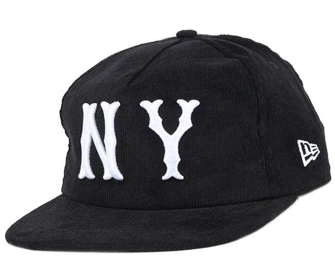 buy online d8c45 032cd NY Highlanders MLB Coop Cord Black 9Fifty Snapback - New Era