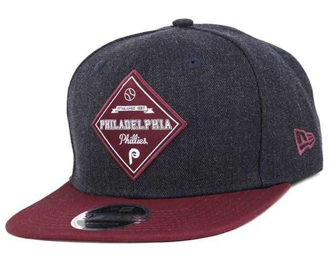 c5e6d27f Philadelphia Phillies Heather Coop Patch 9Fifty Snapback - New Era ...