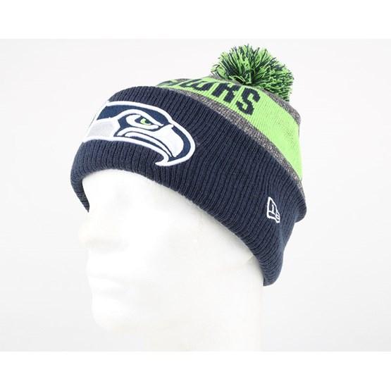 fc04e08326b Seattle Seahawks NFL Sideline Bobble Beanie - New Era beanies ...