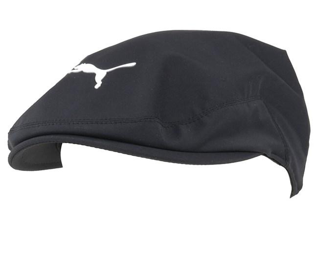 Tour Driver Black Flat Cap - Puma Cobra caps - Hatstoreworld.com 7e1adcd9269