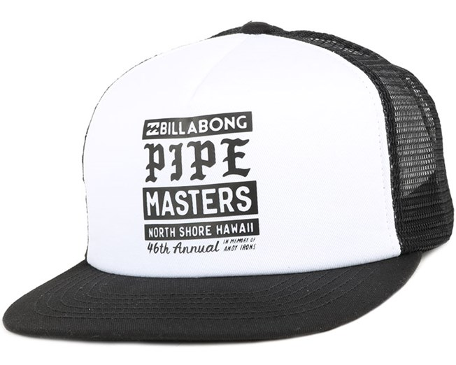 Pipe White Poster Snapback - Billabong - Start Boné - Hatstore 136e437e8ec