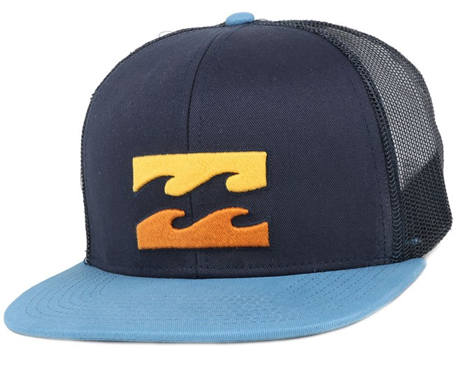 All Day Powder Blue Snapback - Billabong - Start Boné - Hatstore a024f4cbadc
