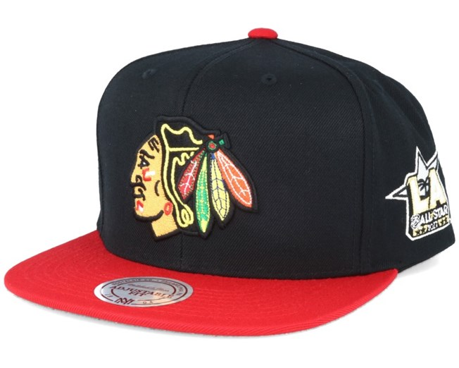 Chicago Blackhawks NHL 2017 ASG 2T Snapback - Mitchell   Ness caps ... 21fd6a2714d