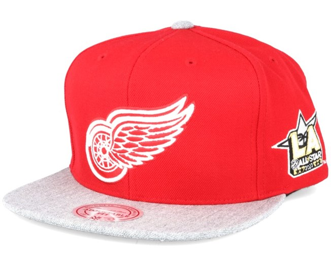 Detroit Red Wings NHL 2017 ASG 2T Snapback - Mitchell   Ness a33e0e90287