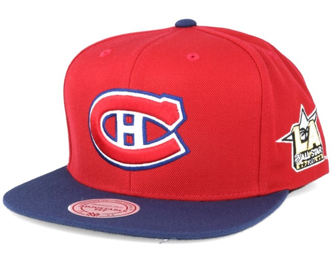 ab24a68b58a Montreal Canadiens NHL 2017 ASG 2T Snapback - Mitchell   Ness caps ...