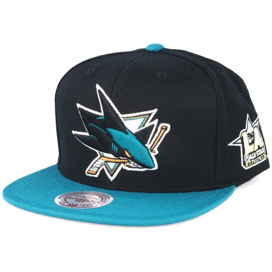 San Jose Sharks NHL 2017 ASG 2T Snapback - Mitchell   Ness lippis -  Hatstore.fi bfa25d7518