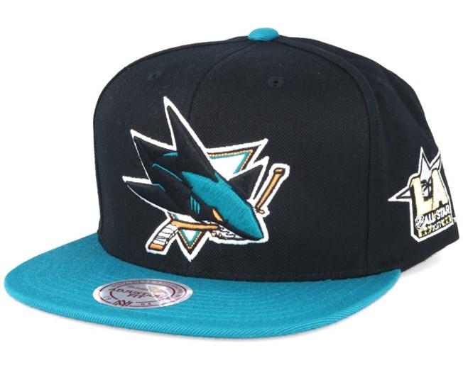 44851a76b68 San Jose Sharks NHL 2017 ASG 2T Snapback - Mitchell   Ness caps ...