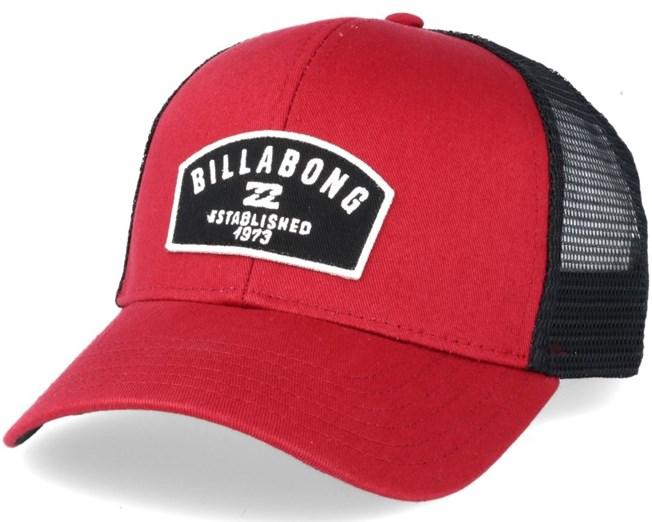 12e3bcdd98d Wharf Red Clay Trucker - Billabong caps