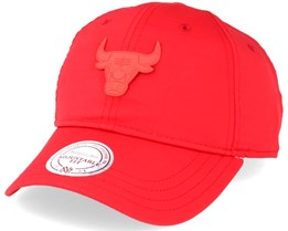Chicago Bulls Red Volley Adjustable - Mitchell & Ness