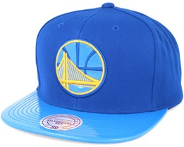 Golden State Warriors Patent 2T/Tonal Snapback - Mitchell & Ness