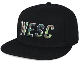 Inlay Black Snapback - WeSC
