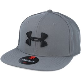 c9ae89d91b5 Under Armour Huddle Graphite Snapback - Under Armour  29.99