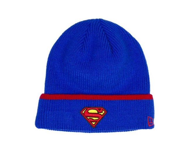 Superman Official Cuff Knit Mössa - New Era cc8ddfbae3907