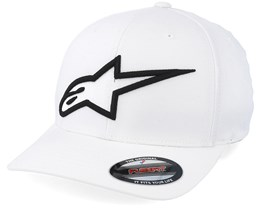 Logo Astar Flexfit White/Black - Alpinestars