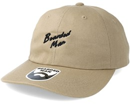 Script BM Khaki Dad Cap - Bearded Man