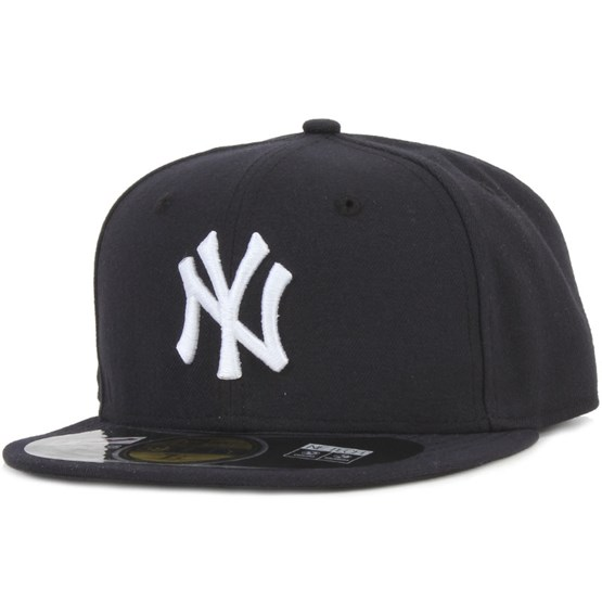 Keps New Era - NY Yankees Authentic 59fifty - Blå Fitted