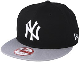 NY Yankees MLB Cotton Block Black/Grey 9fifty - New Era