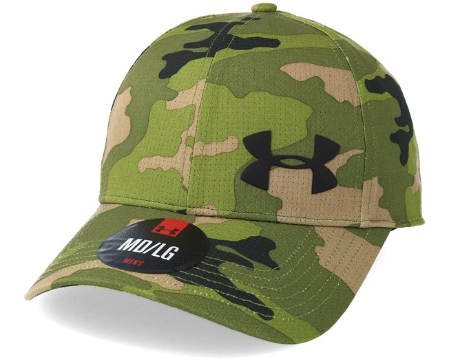 5cd332c0cde Airvent Core Downtiwn Green Flexfit - Under Armour caps