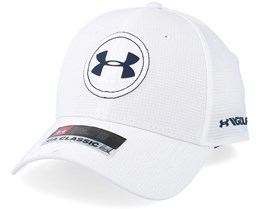 Js Tour Cap White Flexfit - Under Armour